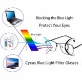 Blue Light Blocking Glasses Kyra Computer Glasses cyxus