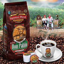 US Only! Giant Coffee Bag!! Cafe Don Pablo Gourmet Coffee Signature Blend - Medium-Dark Roast Coffee - Whole Beans - 5 Pound (2.3 kg) Bag