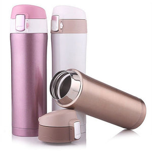 Stainless Steel Double Walled Insulated Thermos Cup 15 Oz (450 ML)