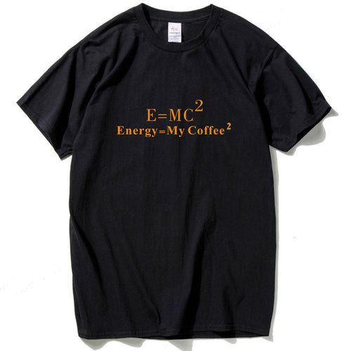 Einstein Mass Energy Equation T shirt Men