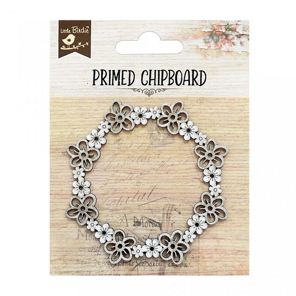 Blooma Wreath - Chipboard