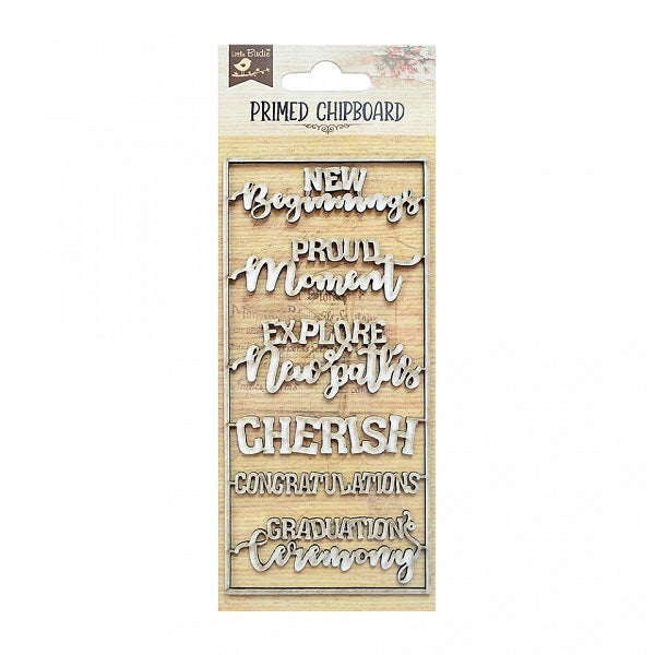 Cherish - Chipboard