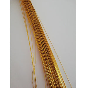 Flower Wire - Golden