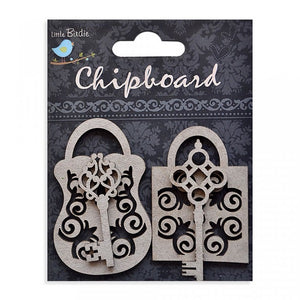 Ornate Locks - Chipboard