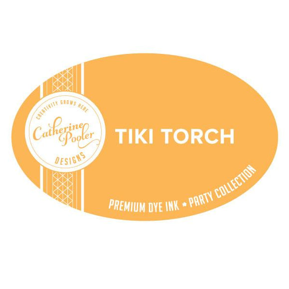 Tiki Torch Ink Pad and Refill - Catherine Pooler