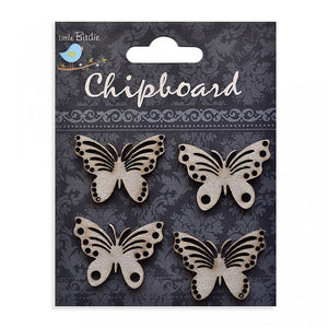 Wilde Butterflies - Chipboard