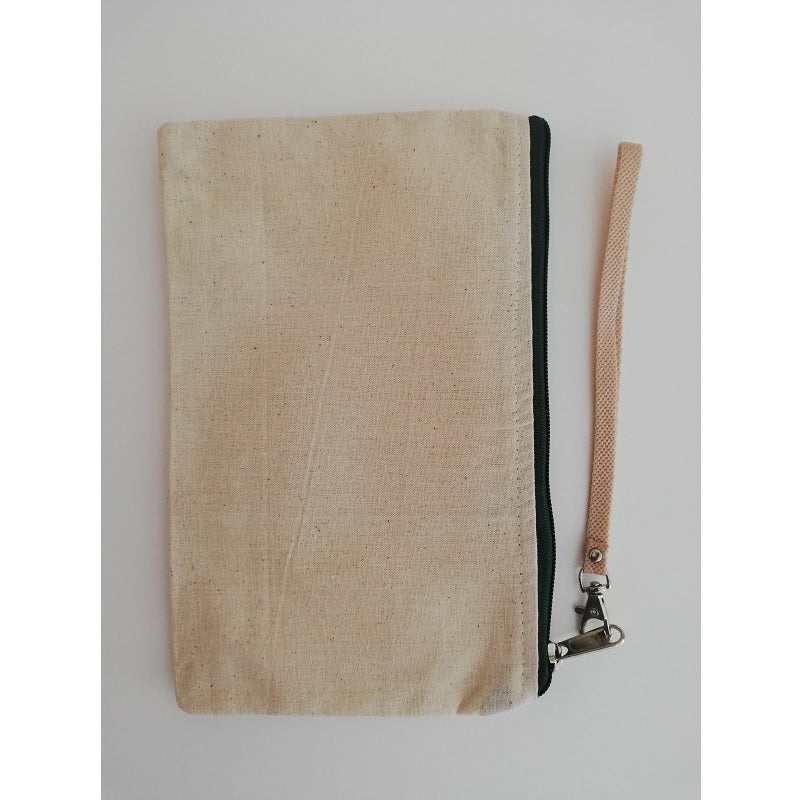 Canvas Wristlet Black