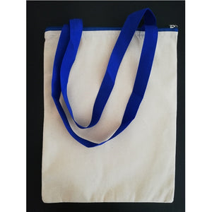 Canvas Tote Bag - Blue