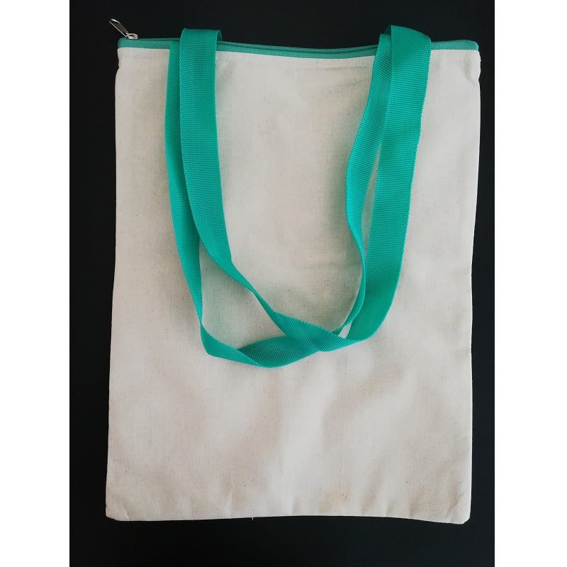 Canvas Tote Bag - Green