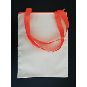 Canvas Tote Bag - Orange