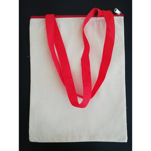 Canvas Tote Bag - Red