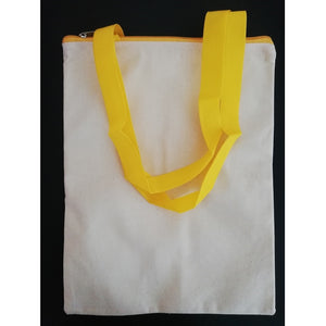 Canvas Tote Bag - Yellow