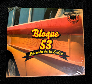 "Bloque CD ""La ruta de la salsa"" - ORIGINAL 1st EDITION !"