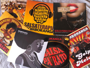 "Tromboranga LP Vinyl ""SALSA TERAPIA"" -SPECIAL LIMITED EDITION- Only 250-"