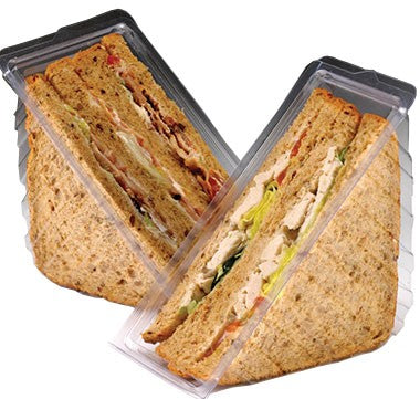 Sandwich Wedges and Salad Boxes