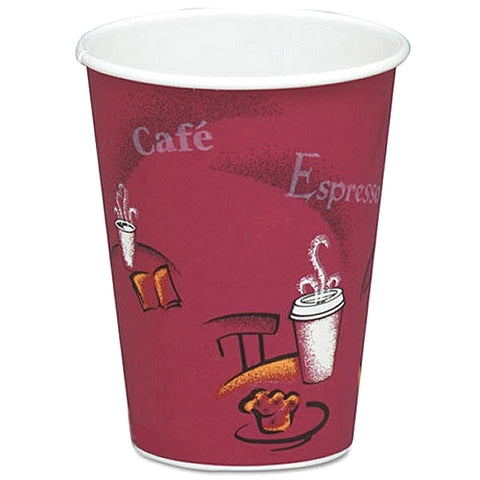 10 OZ SINGLEWALL BISTRO PAPER CUPS   X 100