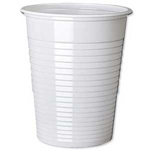 7 OZ WHITE NON VEND CUPS X 100