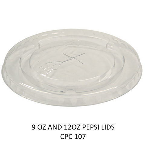 9OZ AND 12OZ PEPSI CUP LIDS X 1000