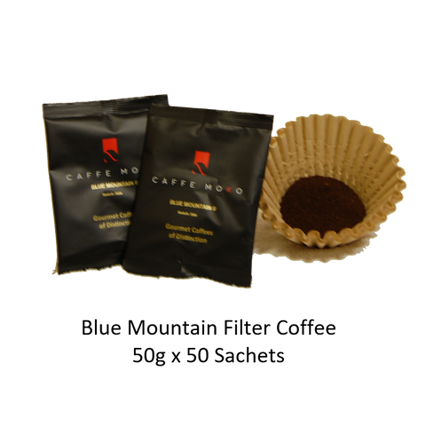 BLUE MOUNTAIN II FILTER COFFEE SACHETS 50 X  50G