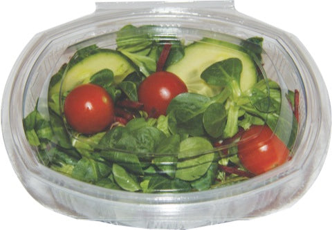 500 CC OVAL SALAD CONTAINER X 300