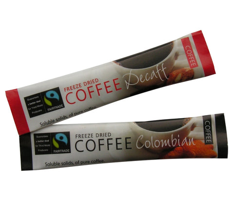 FAIRTRADE INSTANT COFFEE STICKS X 250