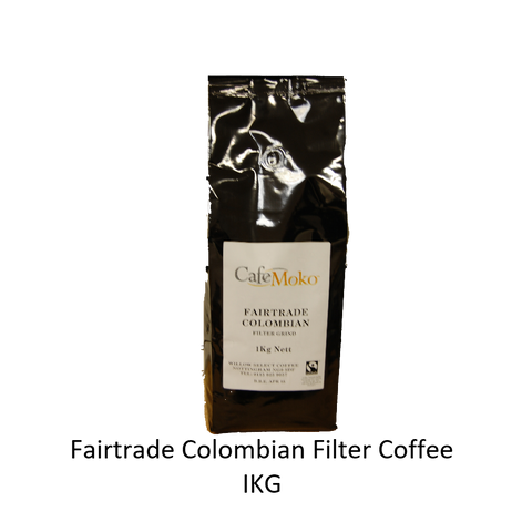 FAIRTRADE COLOMBIAN FILTER COFFEE 1KG