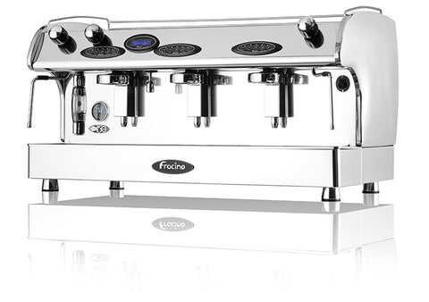 Fracino Comtempo Fully Electronic 3 Group Espresso Machine