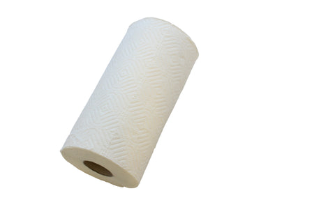 WHITE KITCHEN ROLL X 12