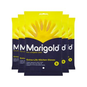 MARIGOLD EXTRA LIFE RUBBER GLOVES X 6