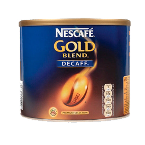 NESCAFE GOLD BLEND DECAFF INSTANT COFFEE 500G TIN
