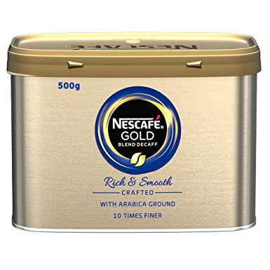 NESCAFE GOLD DECAFF INSTANT TIN x 500g
