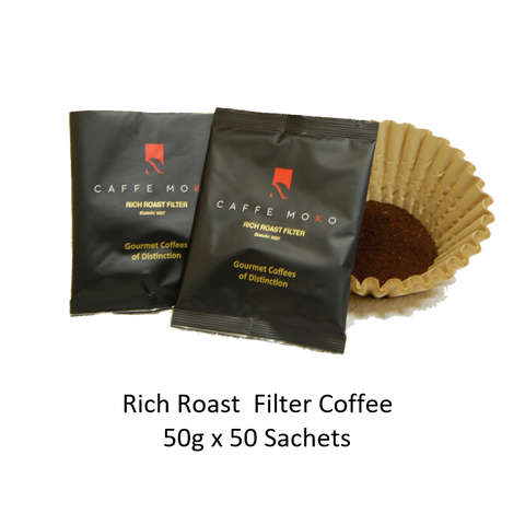 RICH ROAST FILTER COFFEE SACHETS 50 X 50G