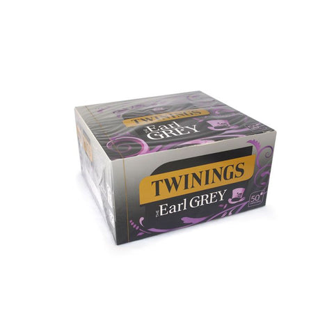 TWININGS ENVELOPE EARL GREY TEA X 50