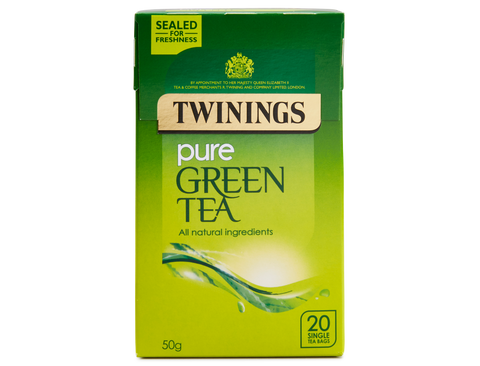 TWININGS GREEN TEA ENVELOPE X 20