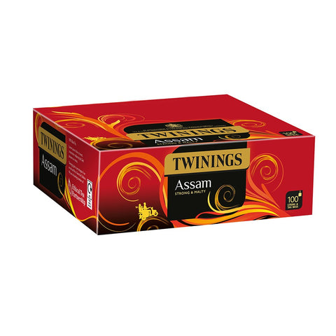 TWININGS STRING & TAG ASSAM TEABAGS X 100