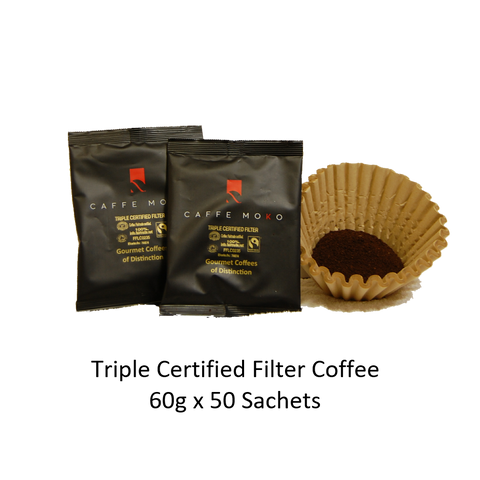 TRIPLE CERTIFIED FILTER SACHETS X 50 X 60G
