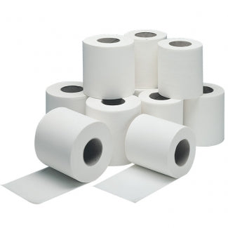 WHITE TOILET ROLL 2 PLY X 36