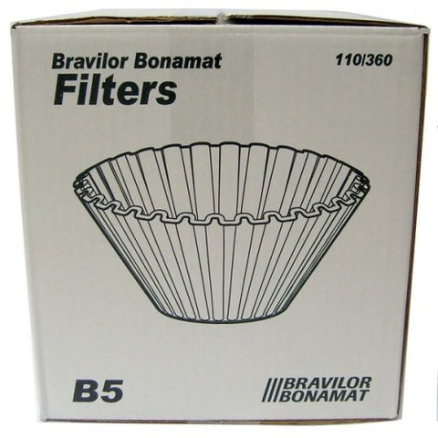 BRAVILOR  B5  FILTER PAPERS X 250