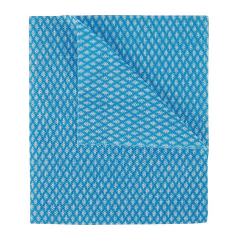 ALL PURPOSE CLEANING CLOTH BLUE X 50