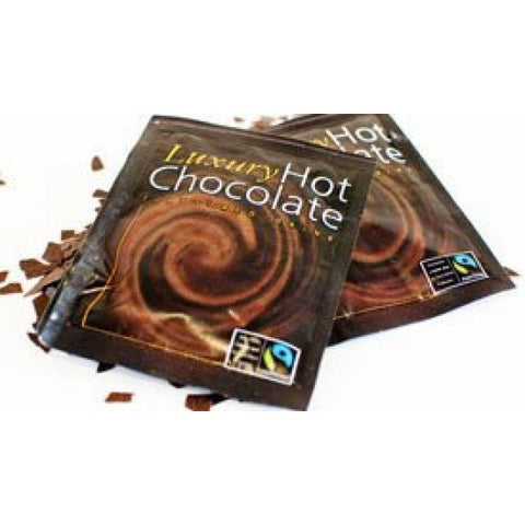 FAIRTRADE  CHOCOLATE SACHETS 25G X 100