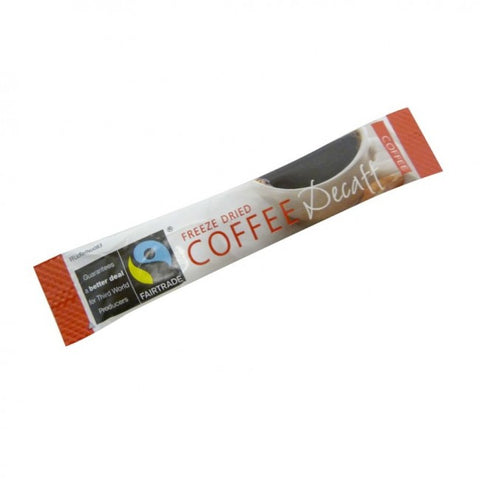 FAIRTRADE DECAFF INSTANT COFFEE STICKS X 250
