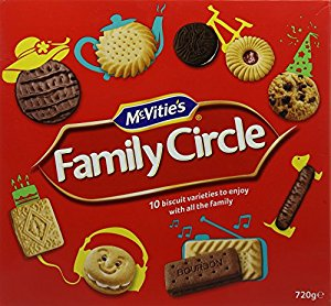 FAMILY CIRCLE ASSORTED BISCUIT X 700G