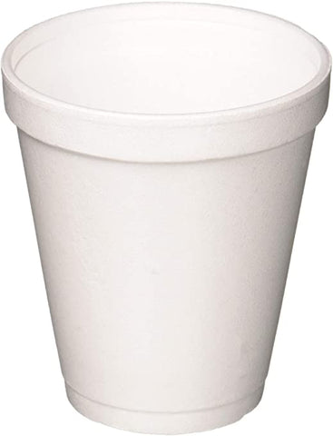 7/8/12 oz FOAM CUPS X 1000