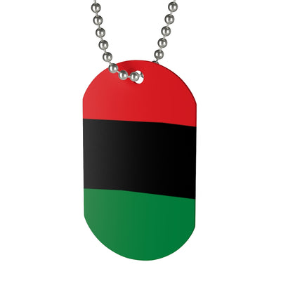 RBG Dog Tag Necklace
