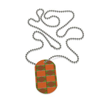 Afrikana Dog Tag Necklace