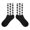 White Small Face Socks