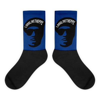Blue LongLiveThePpl Socks