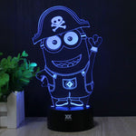 Despicable Me Minion 3D Novelty Lamp
