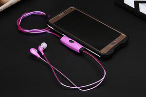 Light Up Stereo LED Sports Earphones
