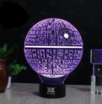Epic Star Wars & Star Trek 3D Lamps
